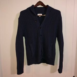 Goodfellow Navy Blue Cardigan